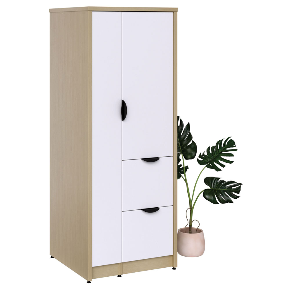 Storage Wardrobe with Dual File Storage