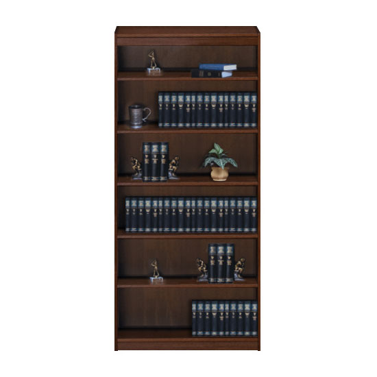 Contemporary 36''W x 84''H x 12''D Bookcase