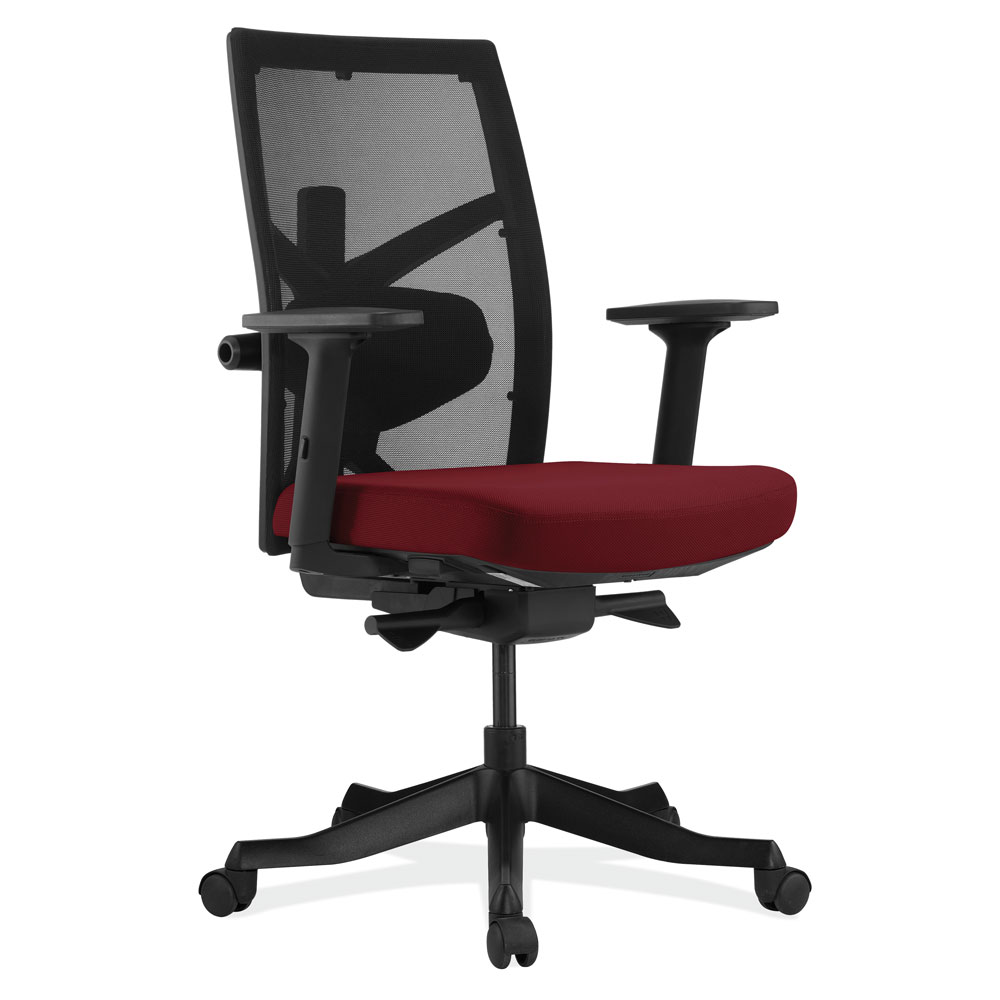 Mesh High Back Task Chair with Black Frame