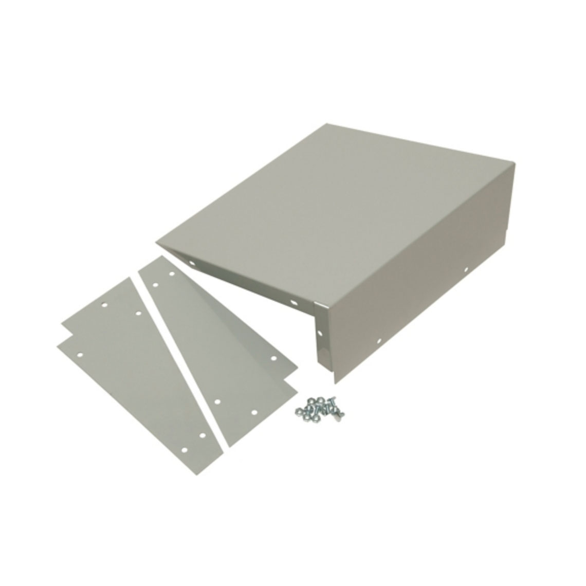 OfficeSource Corridor Lockers Individual Slope Top Kit