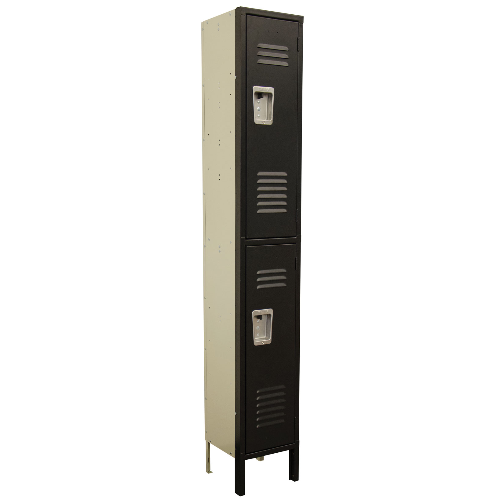 OfficeSource Corridor Lockers 2 Tier 1-Wide Locker