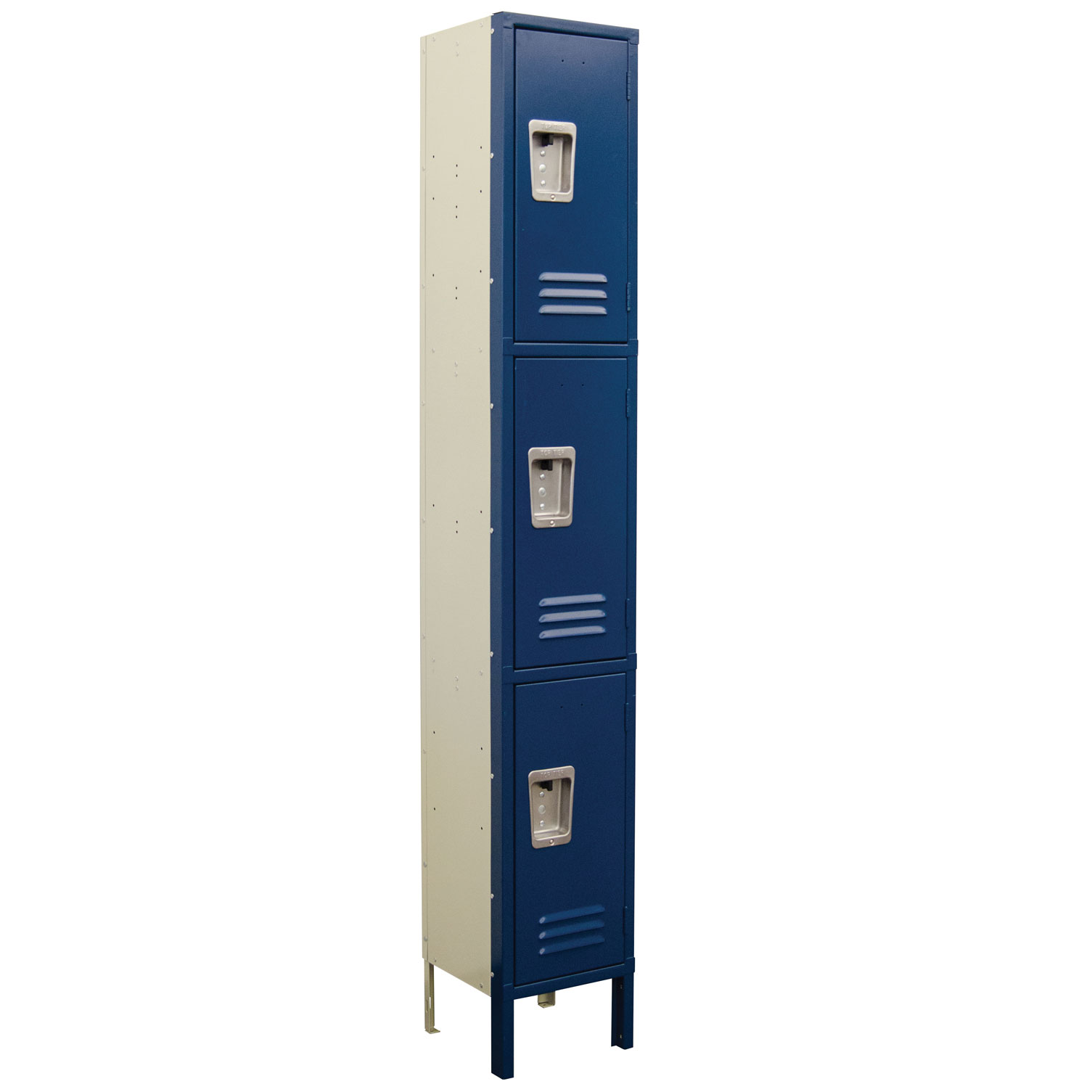 OfficeSource Corridor Lockers 3 Tier 1-Wide Locker