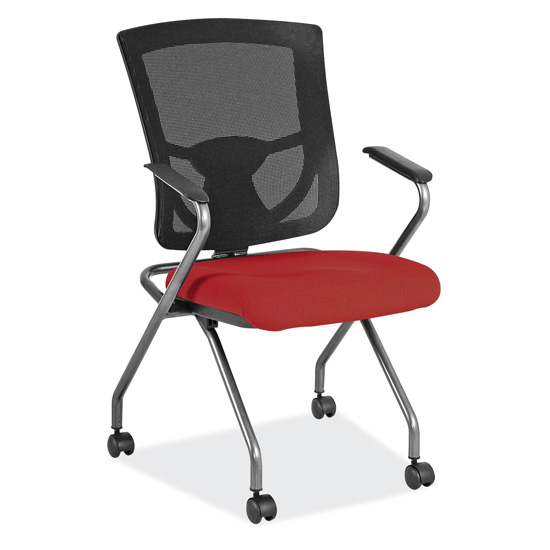 Mesh Back Nesting Chair  sc 1 st  Office Source & Mesh Back Nesting Chair | OfficeSource Furniture