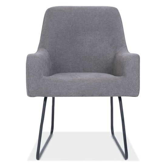 Guest Chair with Black Base