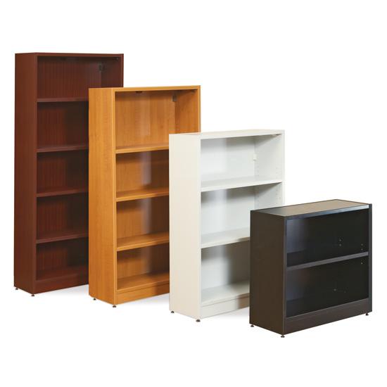 Bookcase with Black Masonite Back