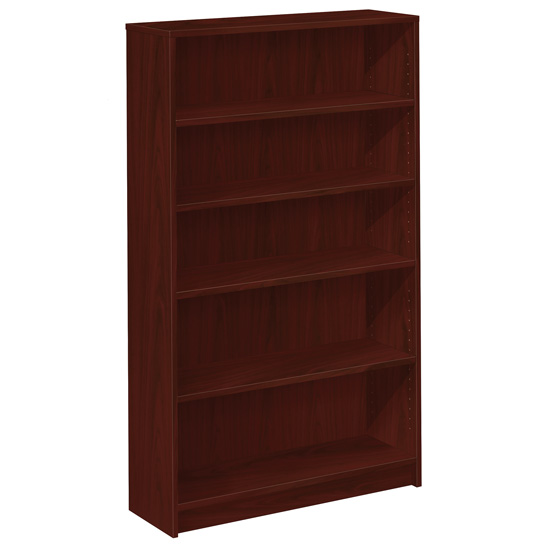 Bookcase with Black Masonite Back