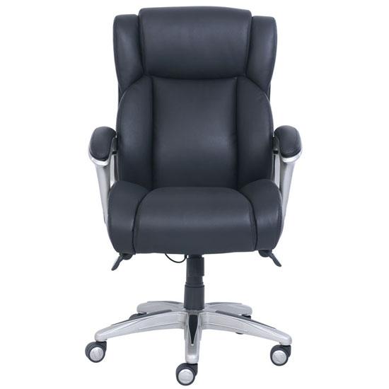 La Z Boy Executive Chair with Silver Frame