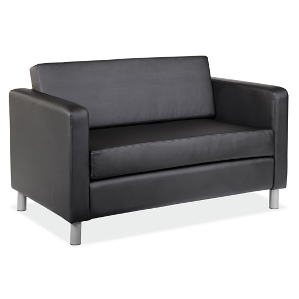OfficeSource Define Collection Contemporary Loveseat