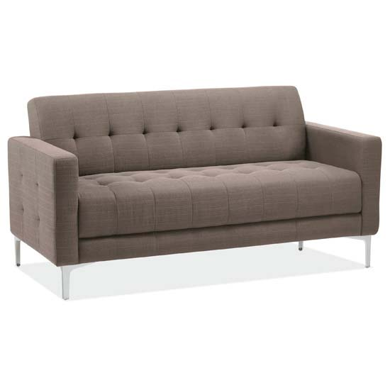 OfficeSource Draper Collection Retro Sofa