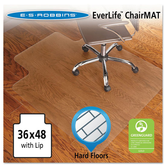 OfficeSource by ES Robbins Everlife Chairmats For Hard Wood Floors Everlife Chairmats For Hard Floors
