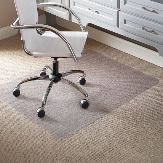OfficeSource by ES Robbins Everlife Chairmats For Low Pile Carpet Everlife Chairmats For Low Pile Carpet