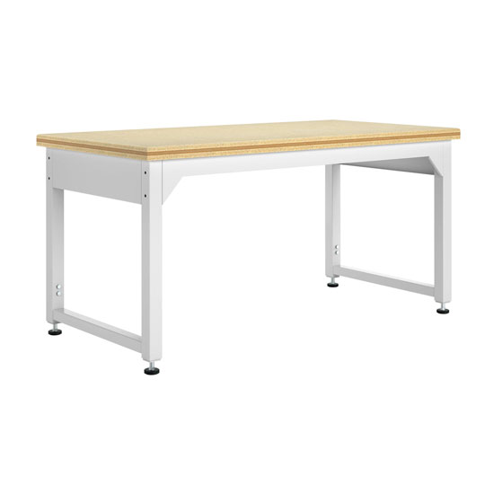 Adjustable Metal Table with ShopTop