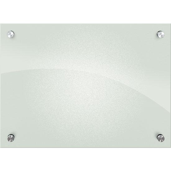 Enlighten Frosted Pearl Glass Dry Erase Whiteboard