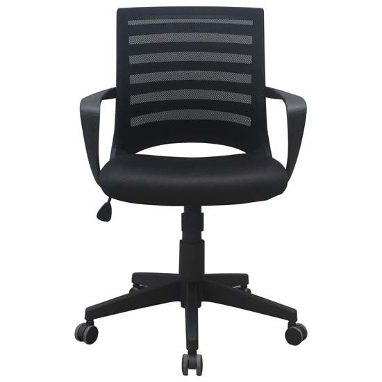 Task Chair with Arms and Black Frame | JMJS Inc. dba COE Distributing