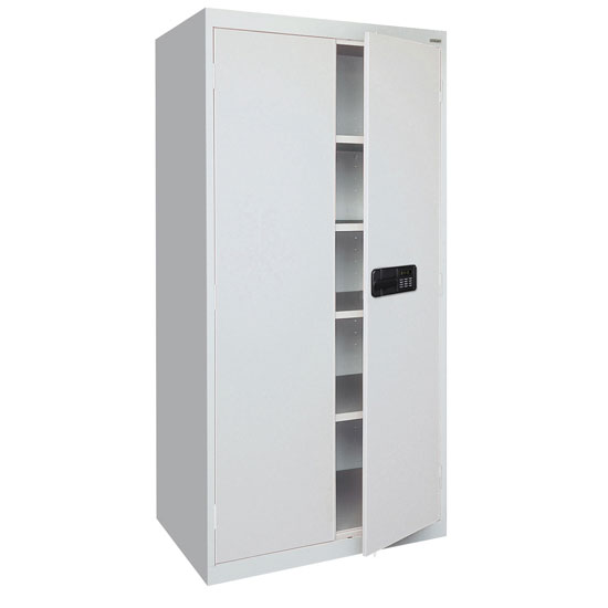 Storage Cabinets with Keyless Electronic Lock Handle