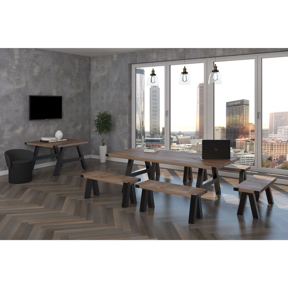 OfficeSource Epitome Collection Square Table