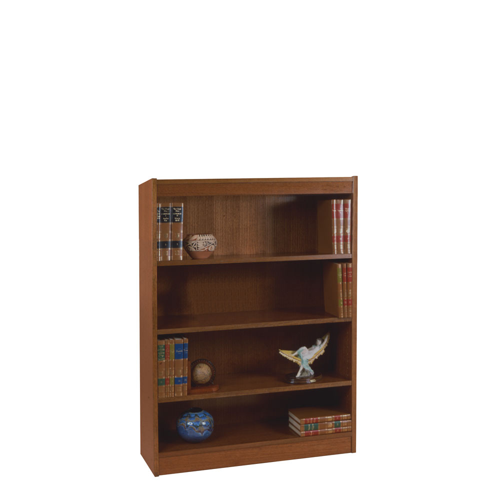 "Excalibur Heavy Duty Shelf 60""H Wood Veneer Bookcase"