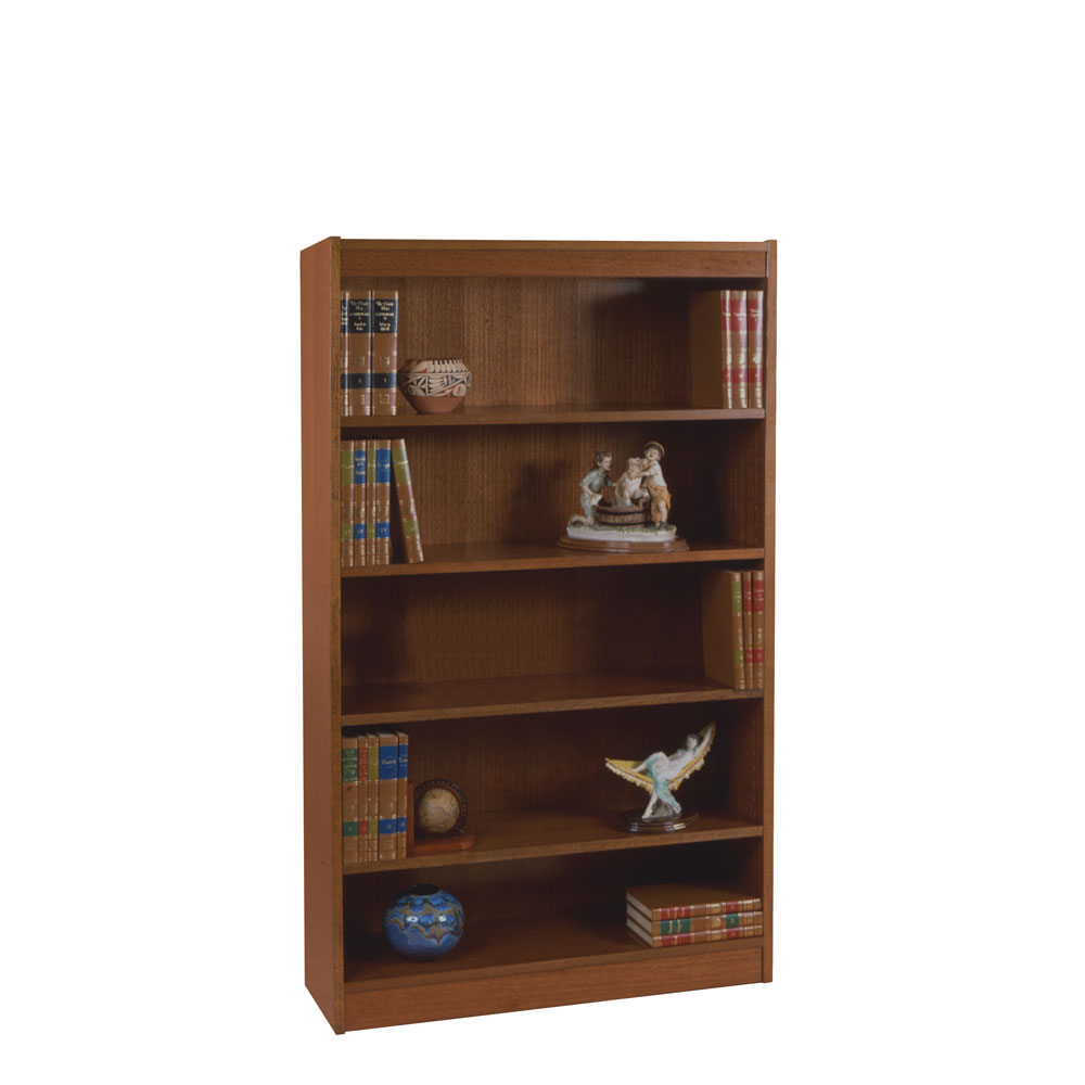 "Excalibur Heavy Duty Shelf 72""H Wood Veneer Bookcase"