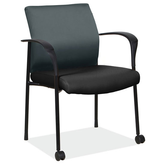 Guest Chair with Black Frame
