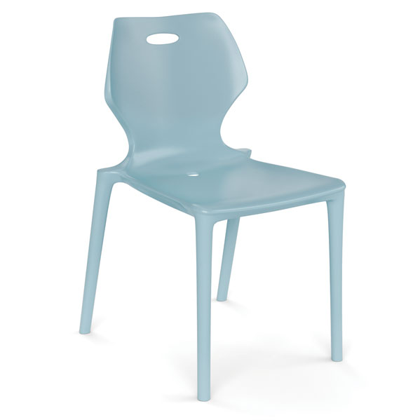 Plastic 4 Leg Stack Chair Office Furniture Store
