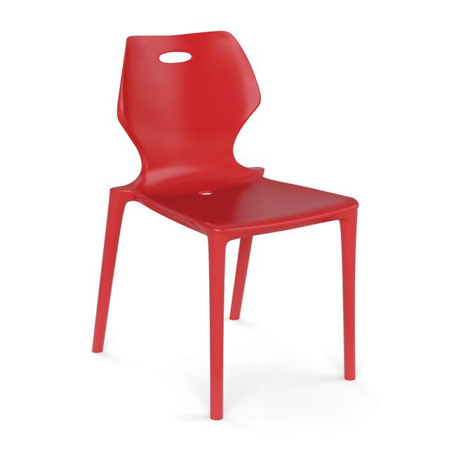 Plastic 4 Leg Stack Chair