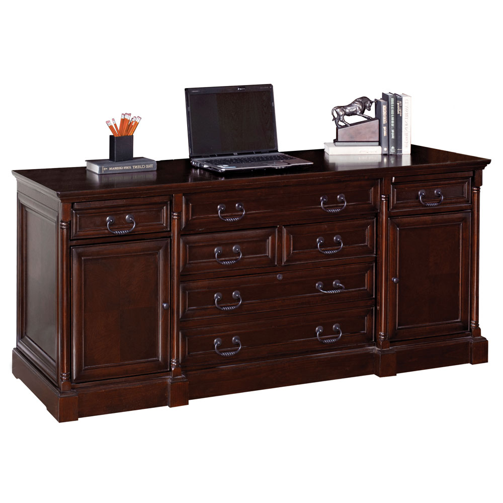 OfficeSource Harding Collection Computer Credenza