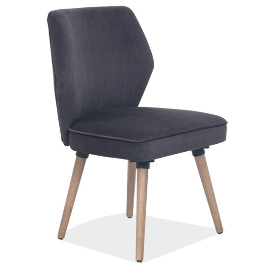 Guest Chair with Wood Post Legs