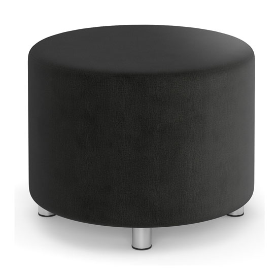 OfficeSource Integrate Collection Round Ottoman