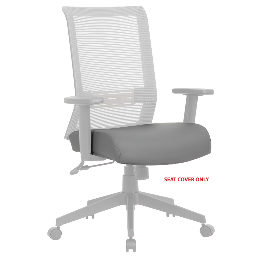 OfficeSource Interchangeable Collection Antimicrobial Seat Cover