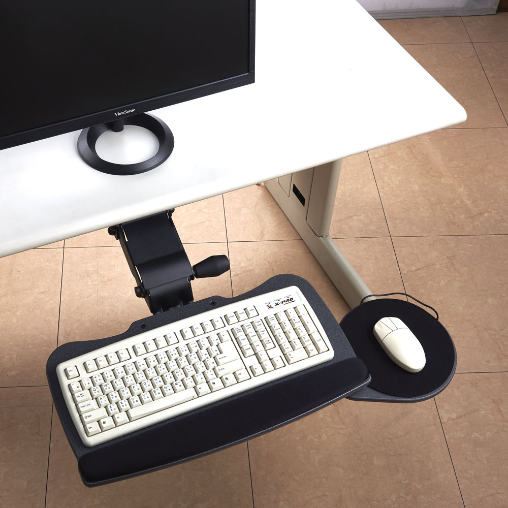 OfficeSource Keyboard Systems Lift and Lock With Tear Drop