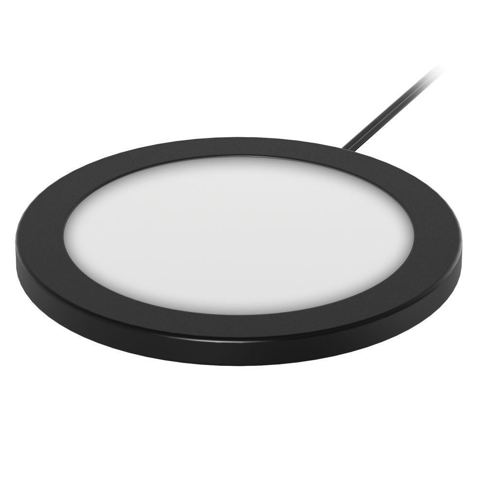 OfficeSource LED Puck Light Super Slim LED Puck Light Kit (3-Pack)