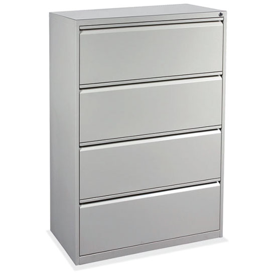 OfficeSource Lateral File Collection 4 Drawer Lateral File