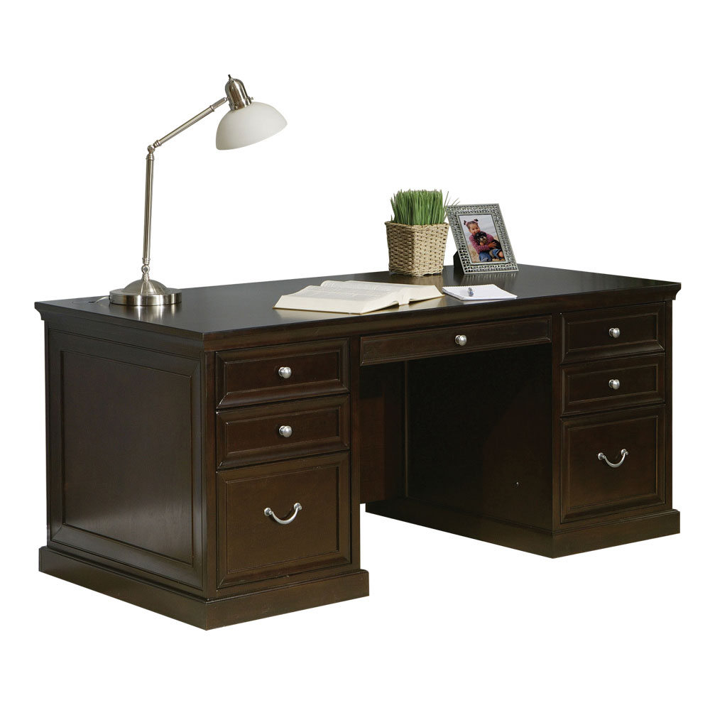 "68"" Double Pedestal Desk"