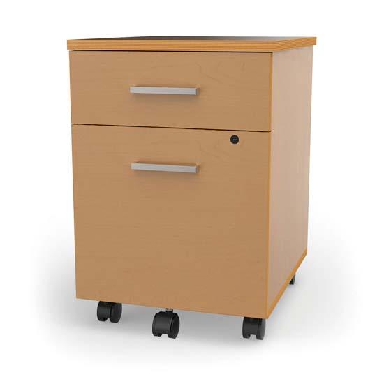 Mobile Pedestal File with Laminate Design