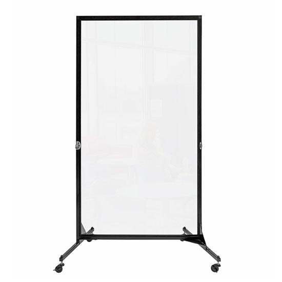 1 Panel Clear Divider
