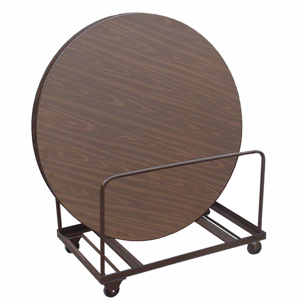 Edge Stacking Round Table Truck