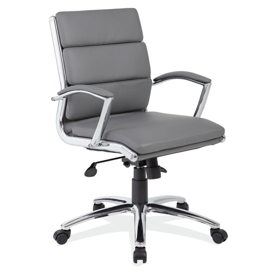 Executive Mid Back with Chrome Frame