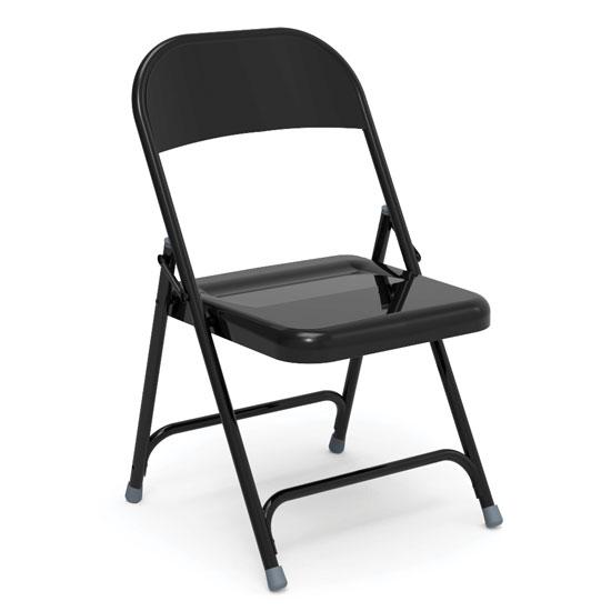 All Metal Folding Chair