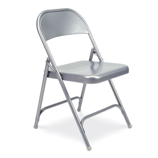 All Metal Folding Chair
