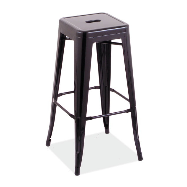 "30""H Backless Indoor or Outdoor Industrial Barstool"