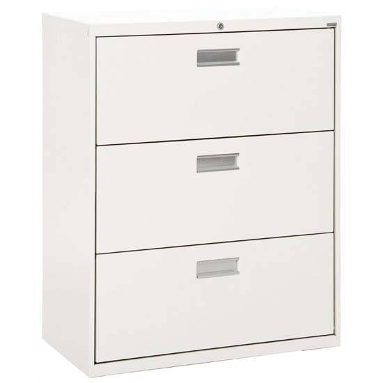 "3 Drawer 42"" W Lateral File"