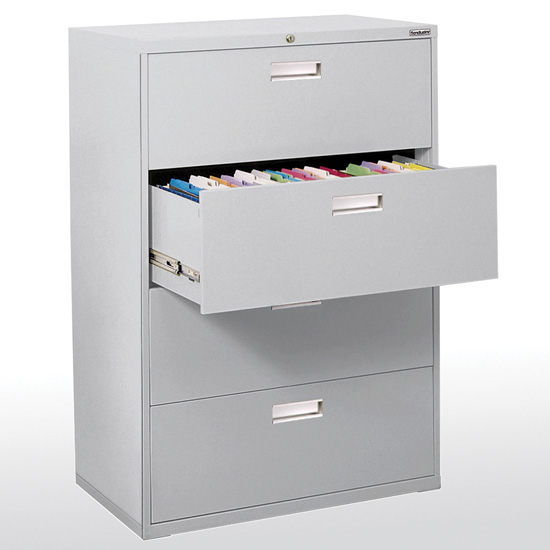 4 Drawer 42'' W Lateral File