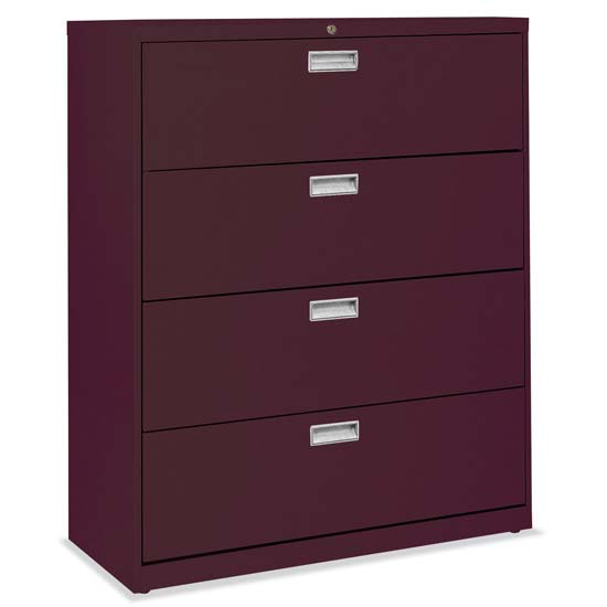"4 Drawer 42"" W Lateral File"