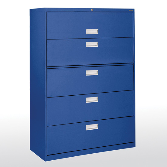 5 Drawer 42'' W Lateral File