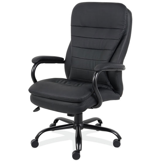 Big and Tall Executive High Back with Black Frame