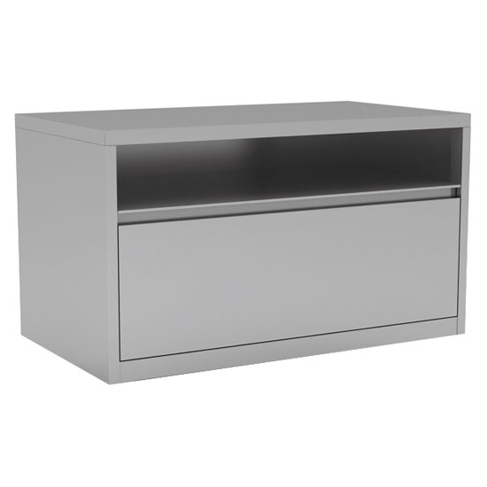 "Benching Cabinet with Open Top and Bottom Drawer – 30"" W"