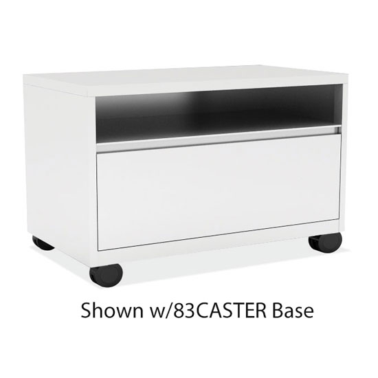 "Benching Cabinet with Open Top and Bottom Drawer – 36"" W"