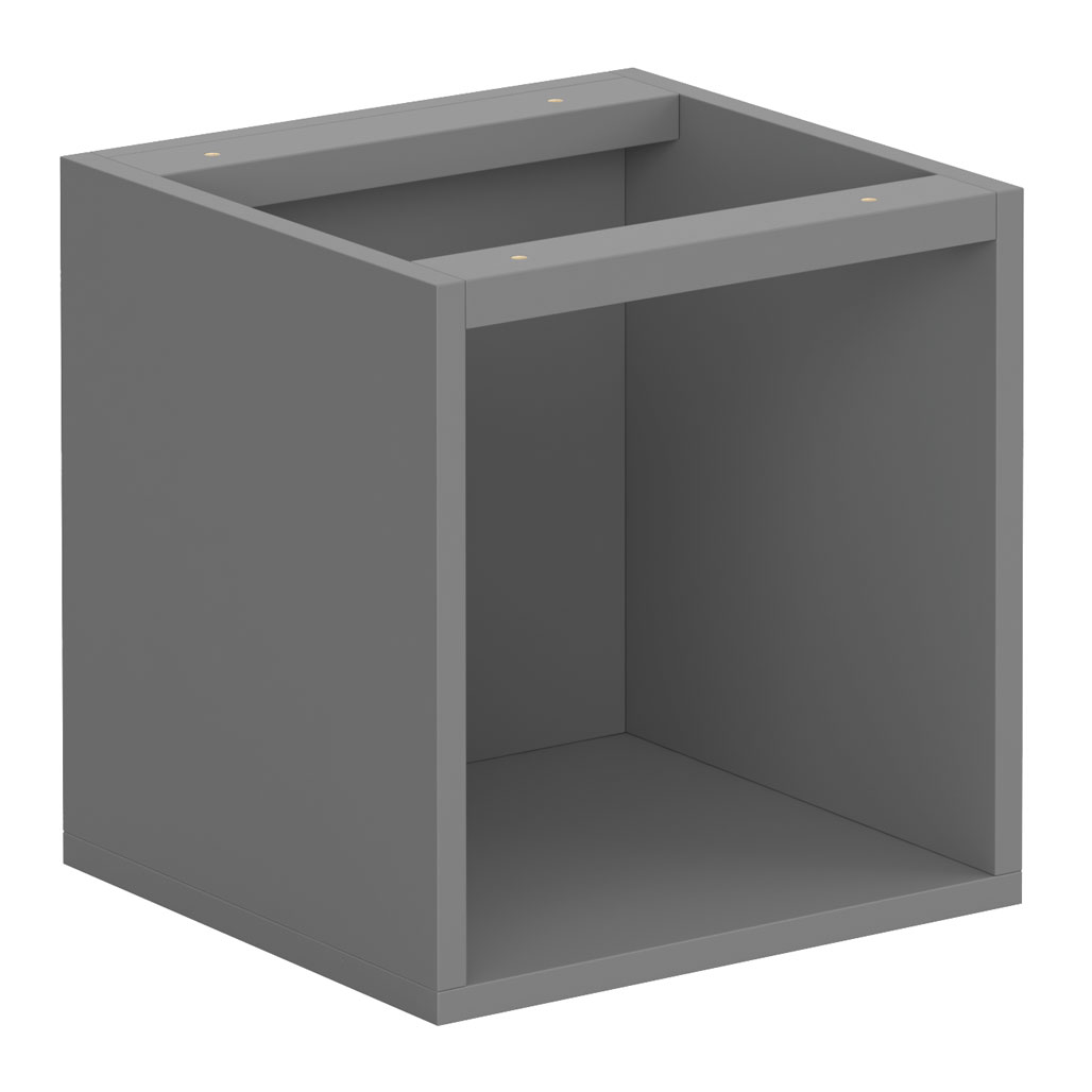OfficeSource Laminate Cubby Square Open Cabinet – Cubby