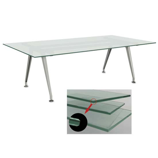 OS Frosted Glass Tables