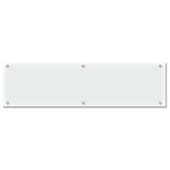OfficeSource OS Laminate Collection Glass Board